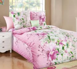 Постельное белье из бязи «Магия цветов 2» (1.5 спальное)  ТМ ТексДизайн