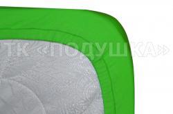 """Трикотажная простынь на резинке """"Зеленая""""   ТМ """"Подушка"""""""