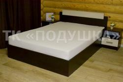 Купить белую махровую простынь на резинке в Москве